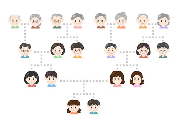 遺伝のイメージ