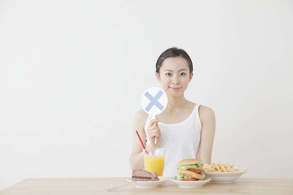 無理のない食事のイメージ