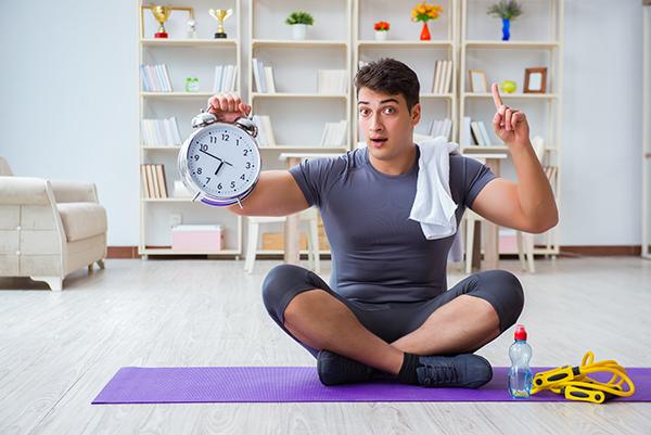 一日どのくら運動する?