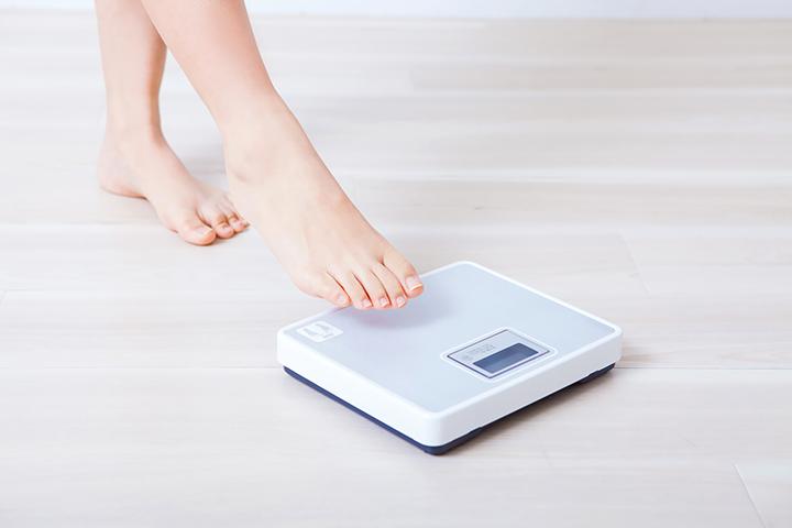 ダイエット=体重を落とすイメージ