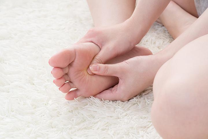 足汗治療法のイメージ