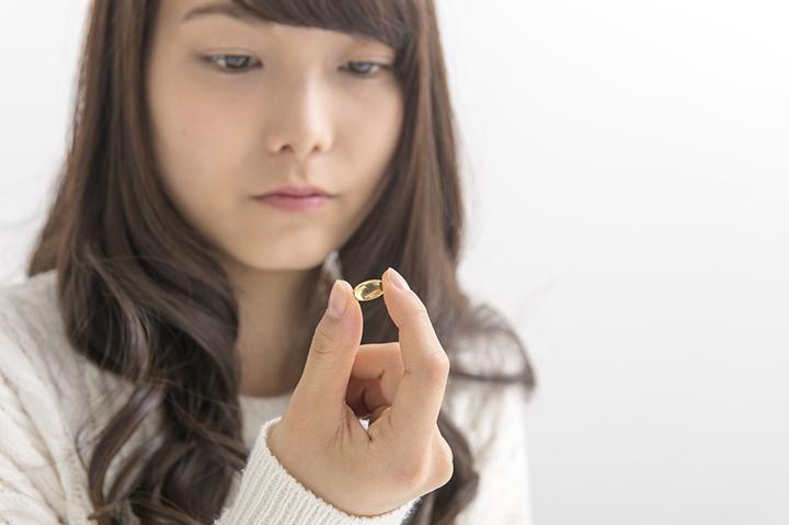 キトサンのサプリメントのイメージ