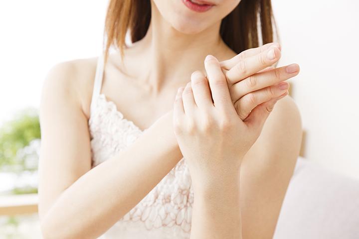 手汗のイメージ