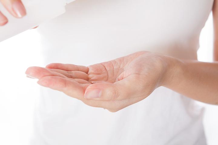 手汗対策用制汗剤のイメージ