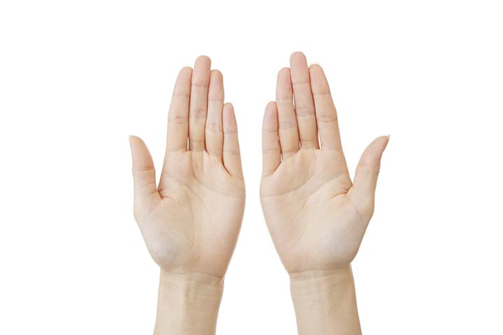 手汗対策のイメージ