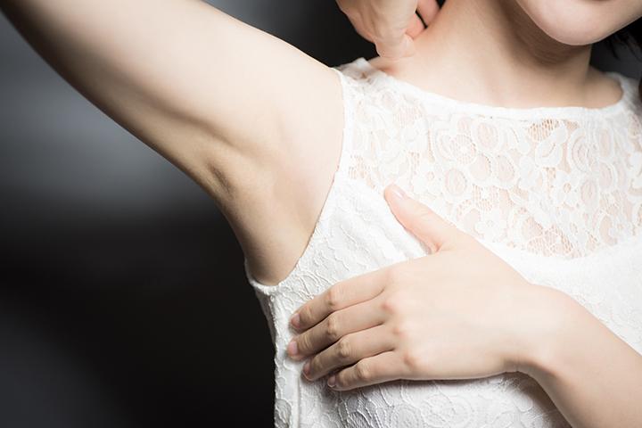 脇汗のイメージ