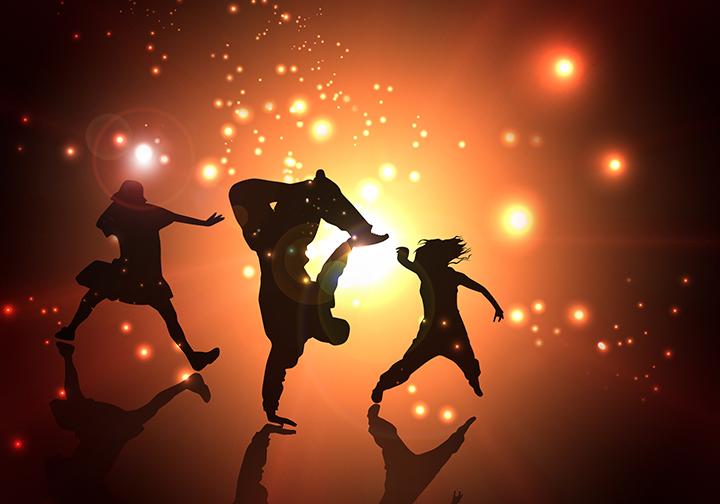 ダンスエクササイズのイメージ